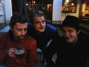 Franc Alpa - Fotka z pivka v Hospodě u Máců